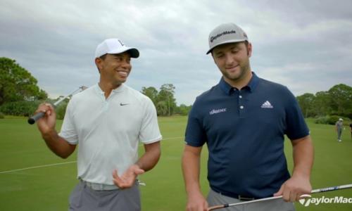 When Tiger Woods First Met Jon Rahm