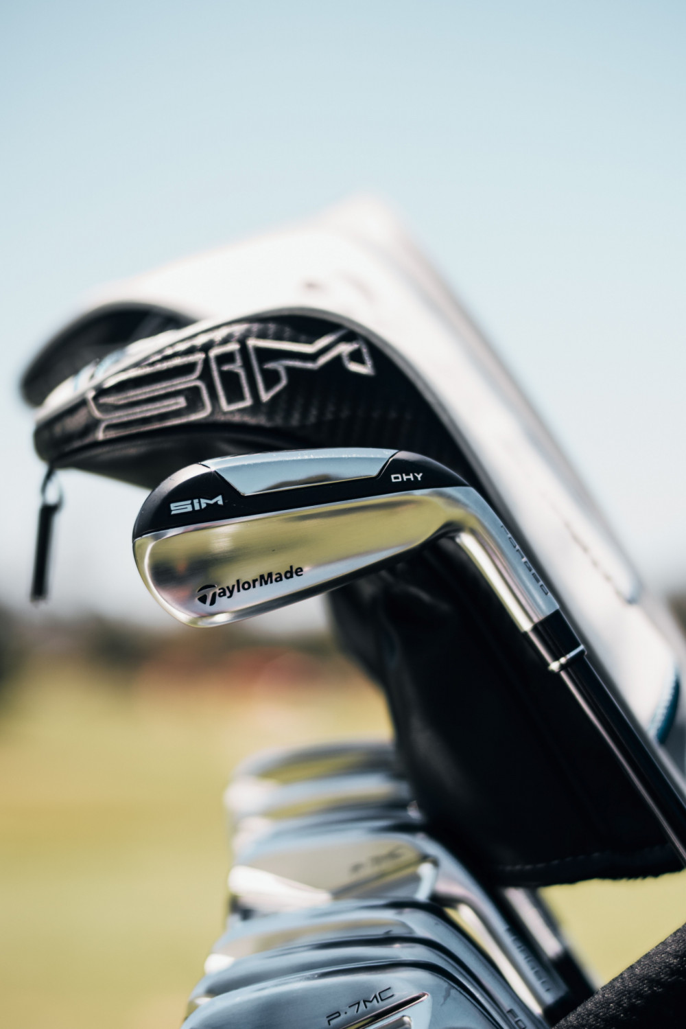 SIM DHY is designed to push the boundaries of forgiveness in utility irons, delivering high launch and versatile performance.