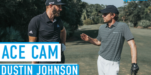 TM Ace Cam Dustin Johnson