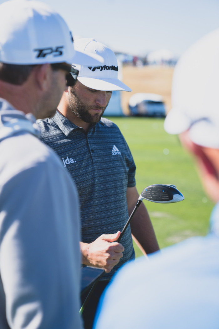 Jon Rahm dialed in his SIM driver ahead of this week's tournament.