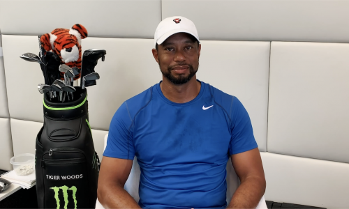 Tiger, DJ, Collin & Team TaylorMade Write Their Love Letter to Golf