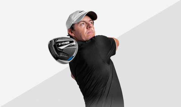 Rory McIlroy with SIM Driver