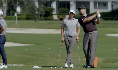 How Jon Rahm Hits His Wedges
