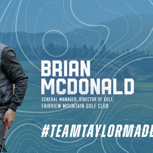 Team Taylor Made Thursday Clubhouse Banner Brian Mc Donald