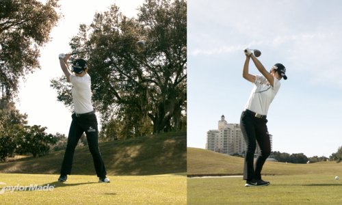 S.H. Park's Powerful Driver Swing