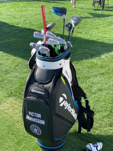 Victor Dubuisson's WITB during the practice rounds at the Abu Dhabi HSBC Championship