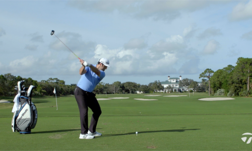 Jon Rahm How to Hit Draws & Fades With Driver