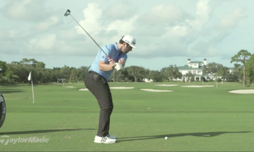 "Jon Rahm ""How to HIT DRIVER OFF THE DECK"""