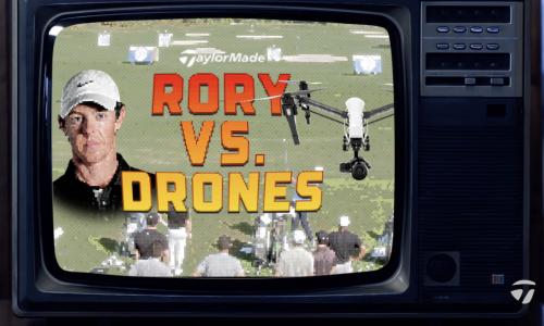 Rory McIlroy vs. DRONES