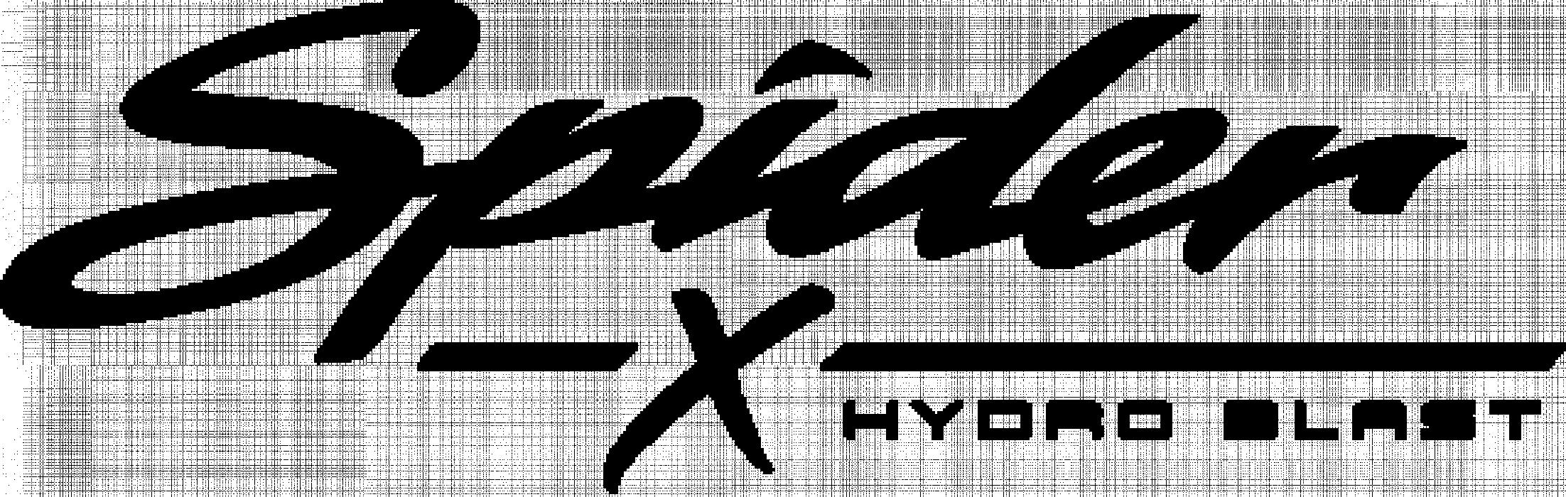 Spider X Hydro Blast Logo BLK