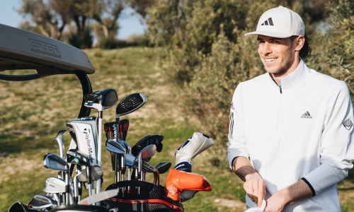 A Full Day of Golf With Soccer Star Gareth Bale