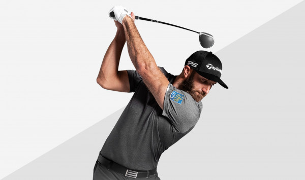 Dustin Johnson with SIM Driver