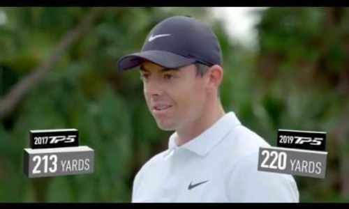 Rory McIlroy Tests the All-New TP5 Golf Ball