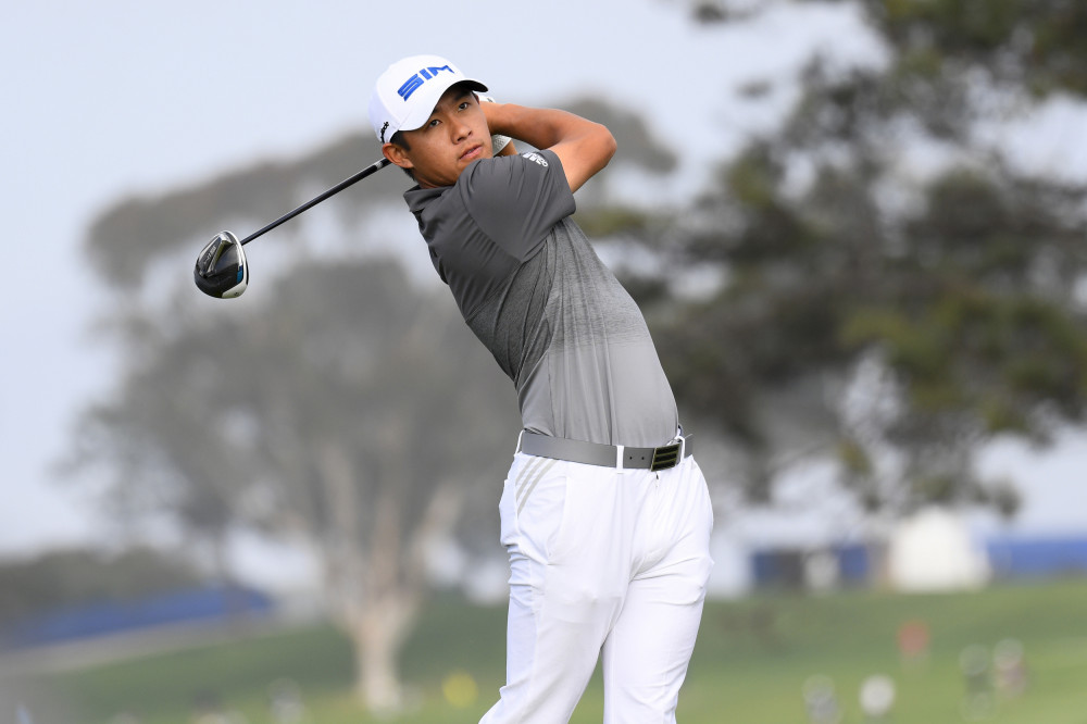 Collin Morikawa is eyeing back-to-back major titles.