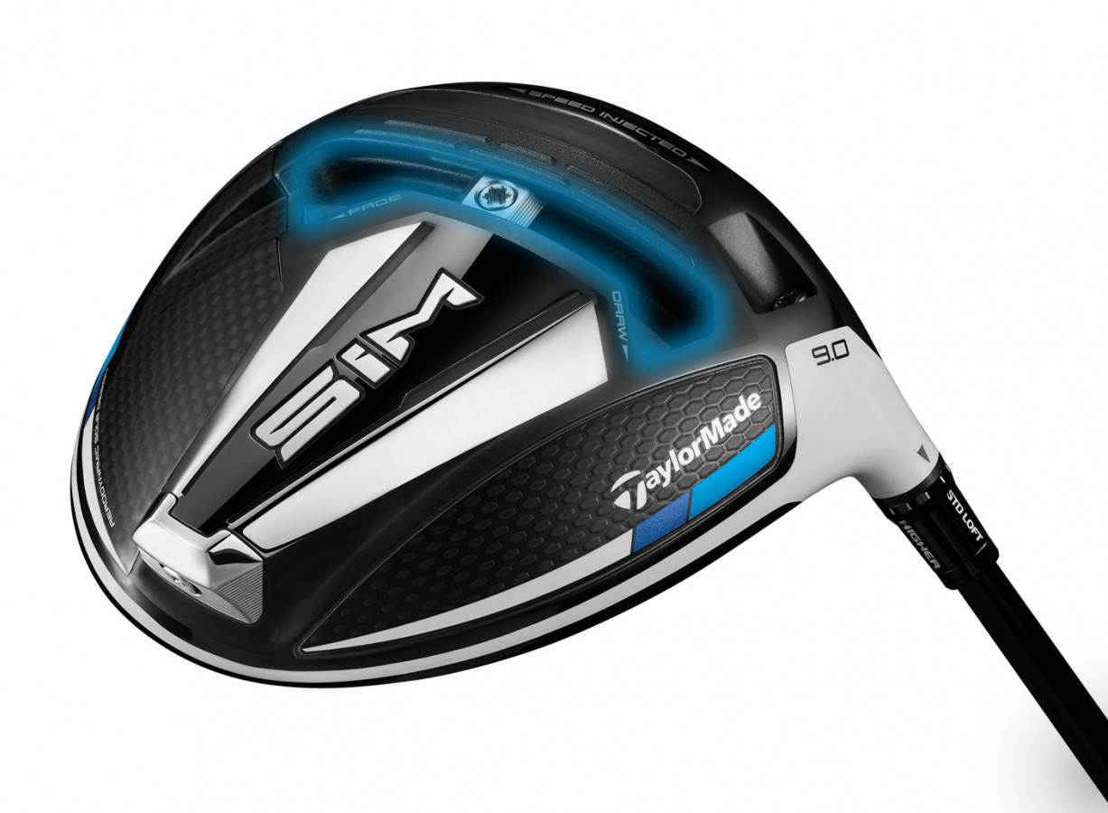 2020 Driver Si M Adjustable Weight Technology Blue Glow