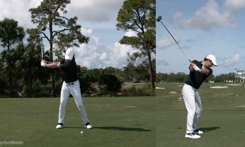 Rory McIlroy's Powerful Driver Swing