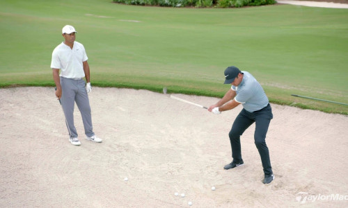 Bunker Technique with Tiger Woods & Jason Day