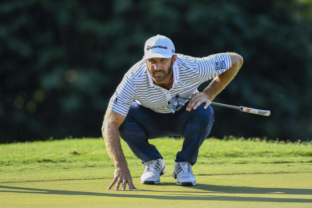 DJ put on a strong putting display across the entire FedExCup Playoffs.