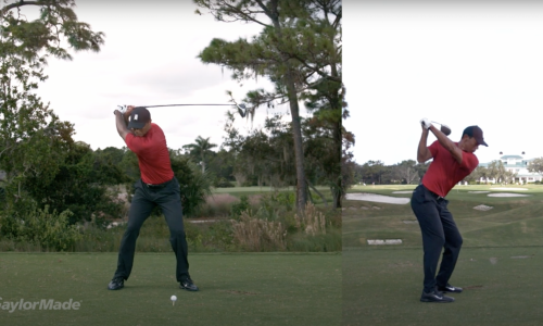 Tiger Woods Slow Mo Driver Swing | TaylorMade Golf