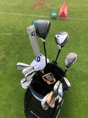 Sami Välimäki's WITB during the practice rounds at the Abu Dhabi HSBC Championship