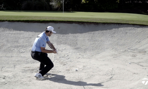 How Jon Rahm Hits 4-Iron Out of a Bunker