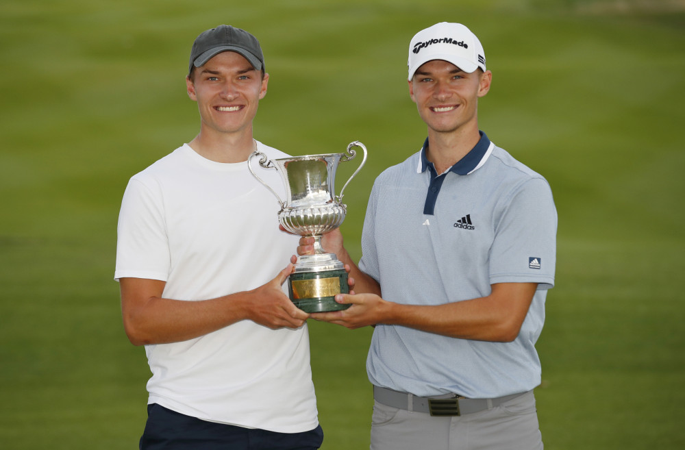 (c) Getty Images - Nicolai Højgaard Wins the DS Automobiles Italian Open title.
