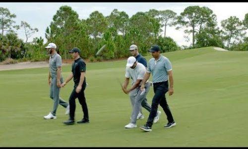 Tiger's Old School Way of Adjusting a Golf Club