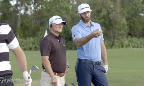 How Dustin Johnson Hits His Wedges