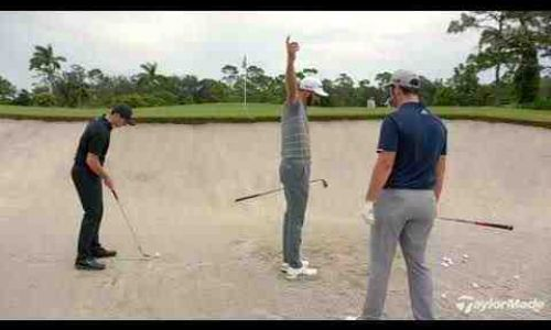 Rory McIlroy, Dustin Johnson, & Jon Rahm's Bunker Technique
