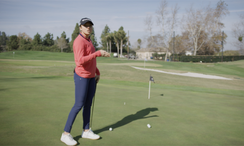 Find the Putting Fall Line With Sierra Brooks